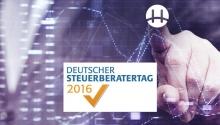 Besuchen Sie uns beim Deutschen Steuerberatertag 2016 in Dresden